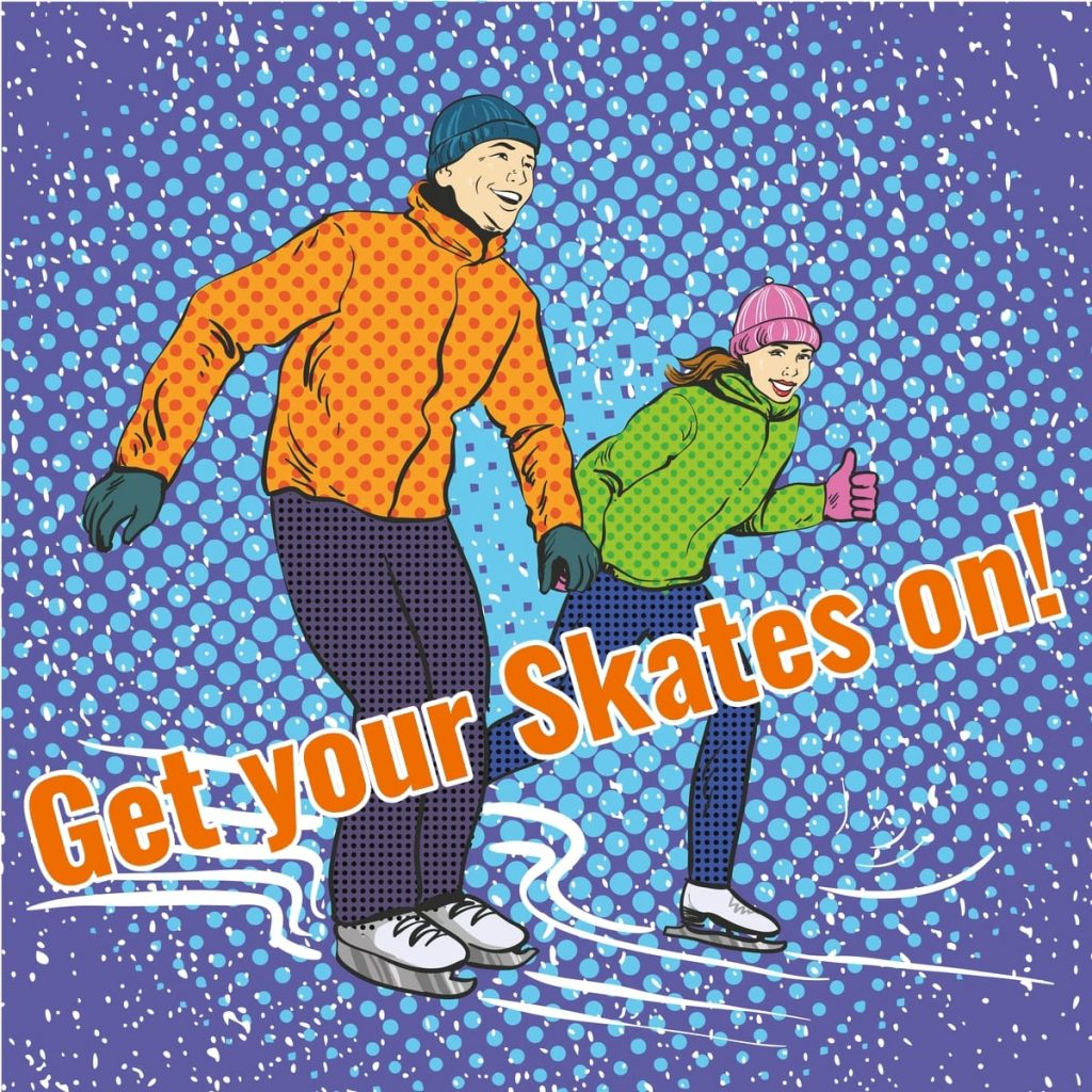 London Ice Skating Lessons, get your skates on