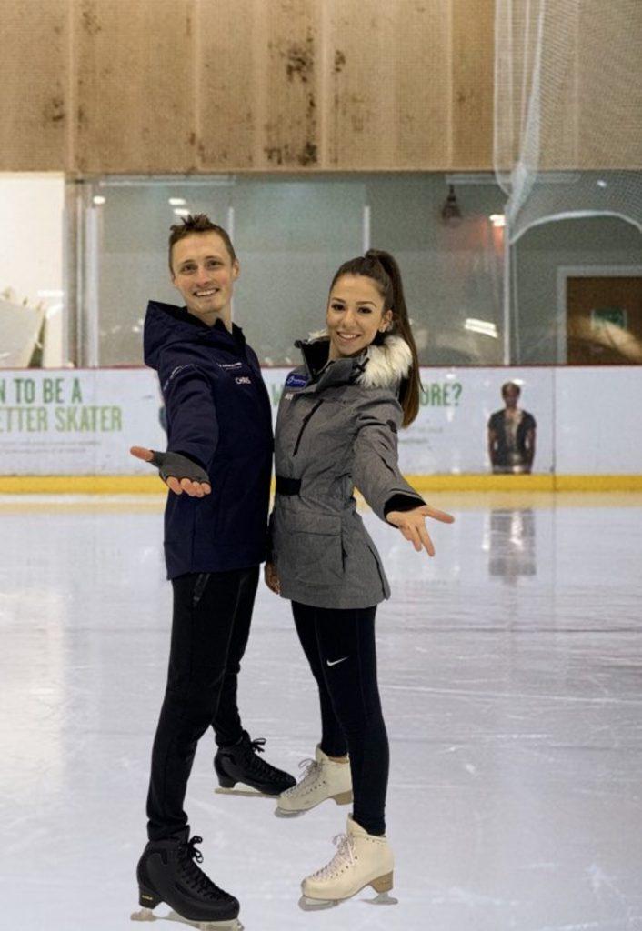 World Championship Competitors, Mina Zdravkova & Christopher Davis to begin coaching at Streatham Ice and Leisure Centre, South London